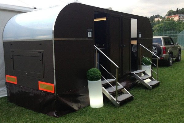 3+1+2 Semi-Luxury Toilet Trailer