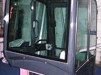 Kabuta Mini Digger Cab front aspect