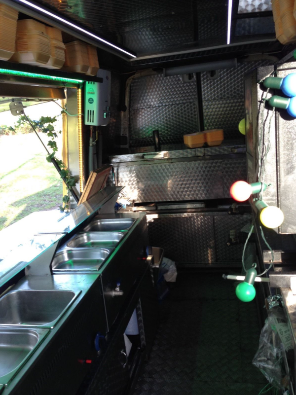 Converted Mercedes Sprinter Catering Van and business