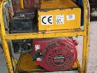 Harrington 3KVA  Petrol Generator, detail