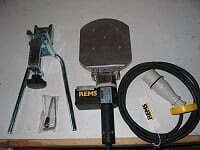 REMS MSG Sleeve Welding Unit