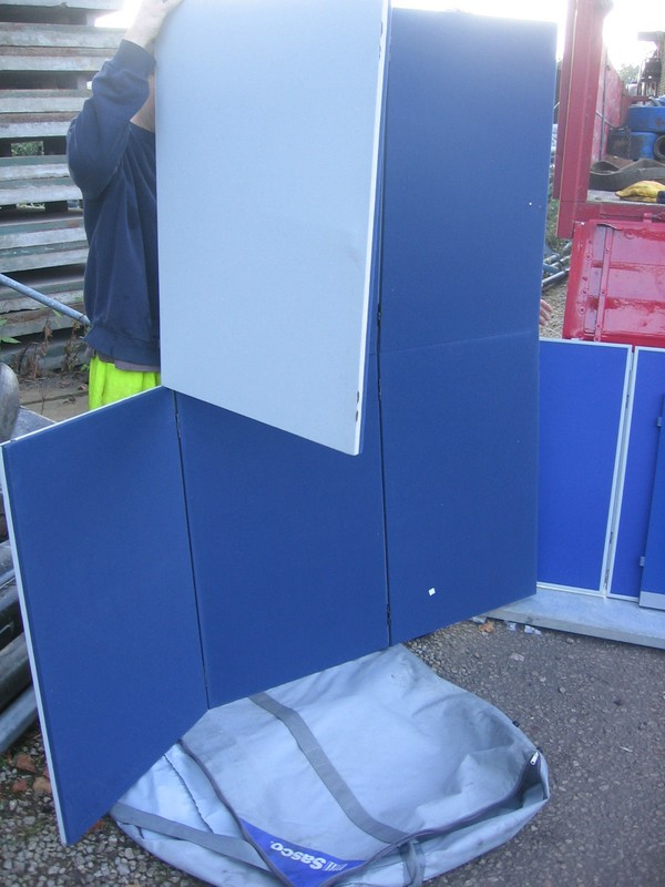 Sasco Modular Display Boards in Carry Cases