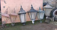 Old Style Copper Lamps
