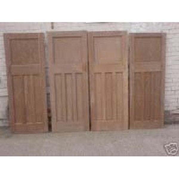 Original 1930's Stripped Pine Doors