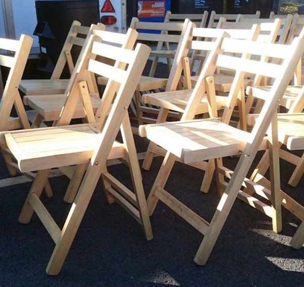 Secondhand Chairs And Tables Folding Chairs