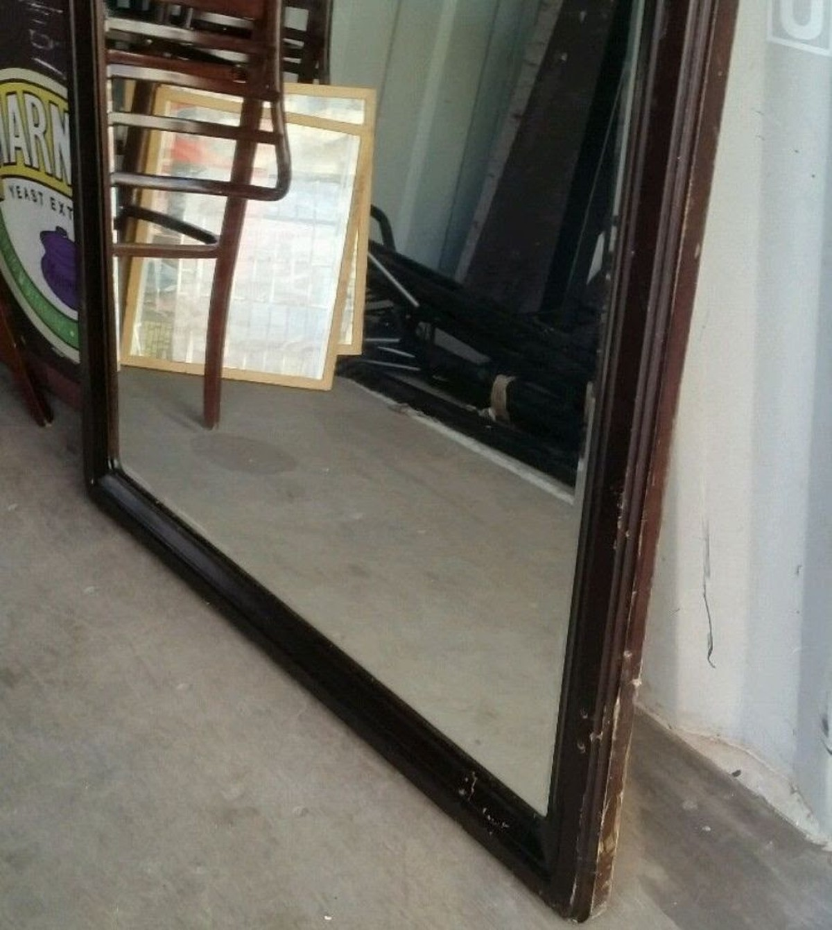 Secondhand vintage and reclaimed vintage mirrors large for Big mirrors for sale