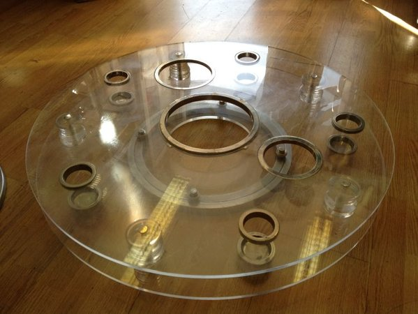 Lazy Susan Turntable & Base (79cm diam) - London