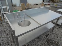 Stainless Steel Sink/ Table (3485)
