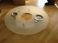 Lazy Susan Turntable & Base (79cm diam) for Sale - London