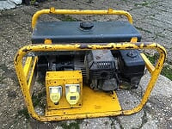 Harrington 3KVA - Petrol Generator, connections
