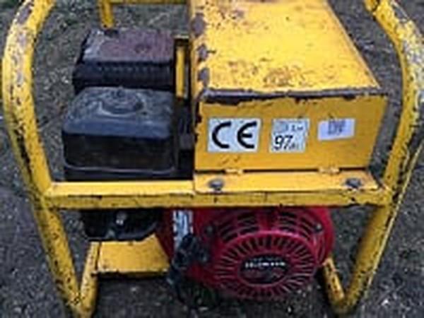 Harrington 3KVA - Petrol Generator, detail