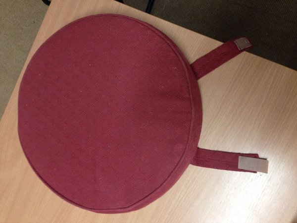 Red Seat Pads