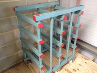 Used Plastic Gastro Racking - London