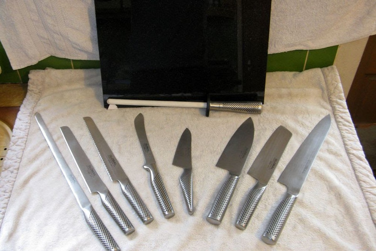 Secondhand Catering Equipment Chefs Knives Global Chef