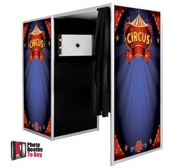Circus Themed photo booth