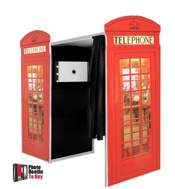 Telephone box photo booth