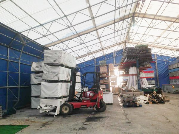 Temporary Warehouse for sale