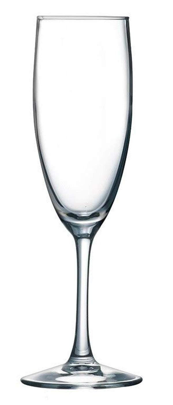 luminarc 16cl dishwasher safe flute glasses
