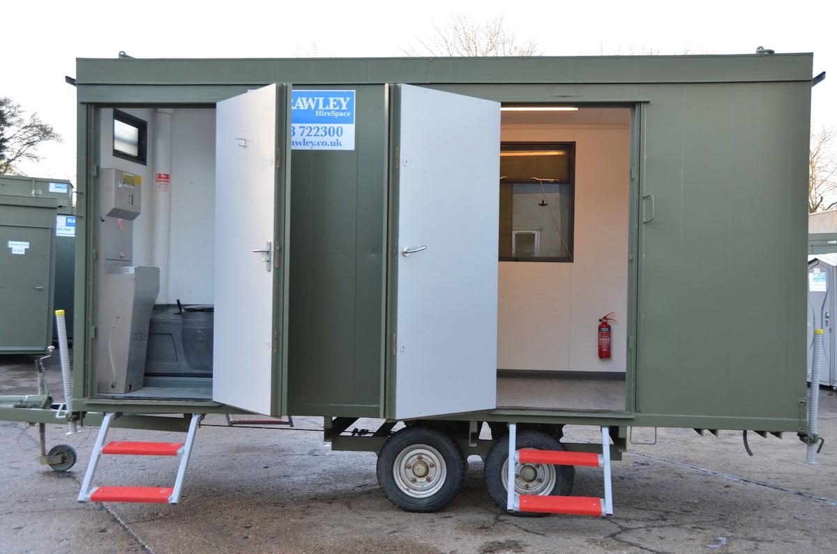 Mobile Trailer Unit : Secondhand trailers welfare mobile
