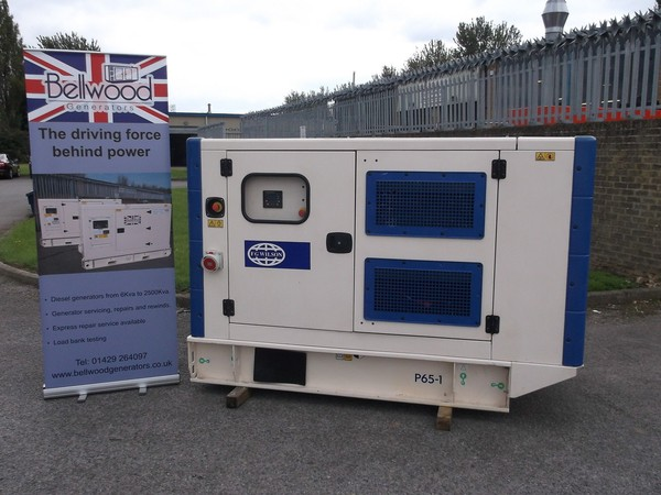 FG Wilson 60kva silent diesel generator