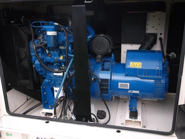 FG Wilson 60kva silent diesel generator, detail