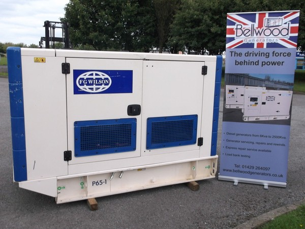 FG Wilson 60kva silent diesel generator, Hartlepool