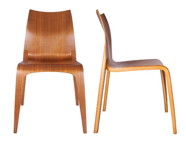 Laminated Bentwood Chairs Italy c.1950