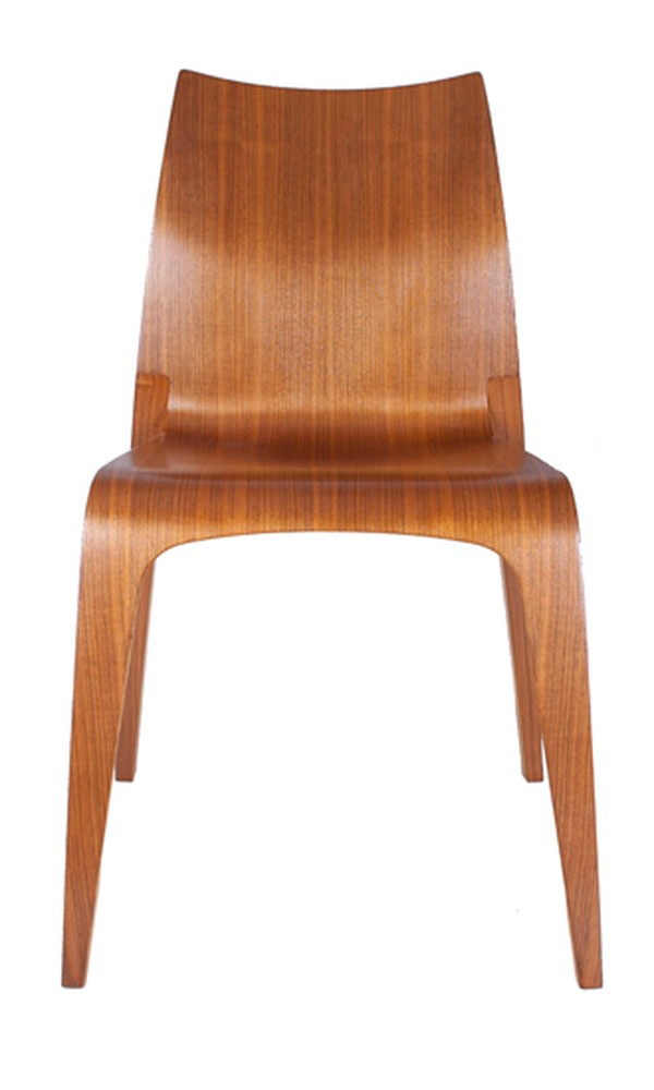 Pair of Laminated Bentwood Chairs Italy c.1950