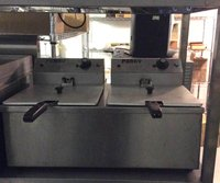 Parry table top double fryer