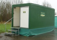 Large urinal trailer