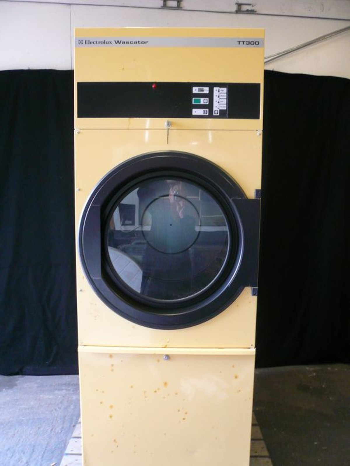 Secondhand Laundry Equipment Gas Dryers Electrolux