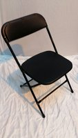 Black Samson Style Folding Chairs