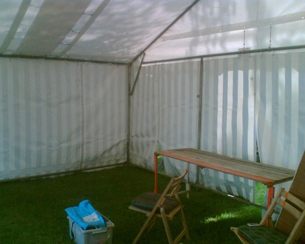 6Mx 4M or 6M x 6M Raclet Marquee