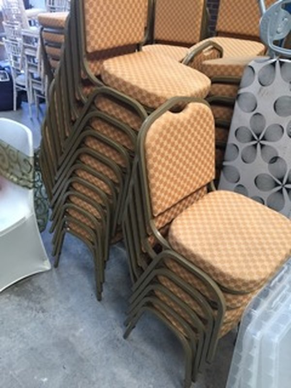 Banqueting chairs