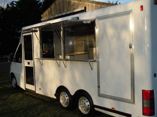 Mobile chip shop for sale