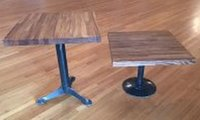 4 Wooden Bar Tables