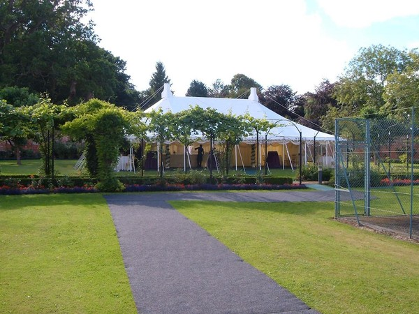 Traditional Ex-Hire Marquee For Sale