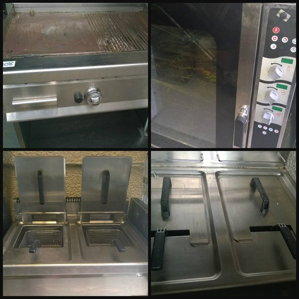 Job lot of catering equipment