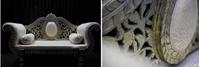 Luxury 2 seater wedding sofa