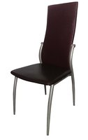 Steel Frame Upholstered Restaurant Chair