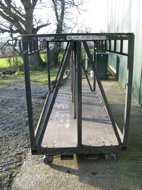 Heavy Duty Set Cart for Storage/Transport