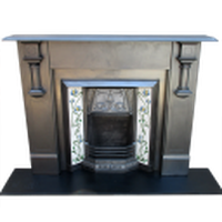 Art Deco Edwardian Slate Fireplace Surround