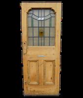 1920's Stained Glass Door