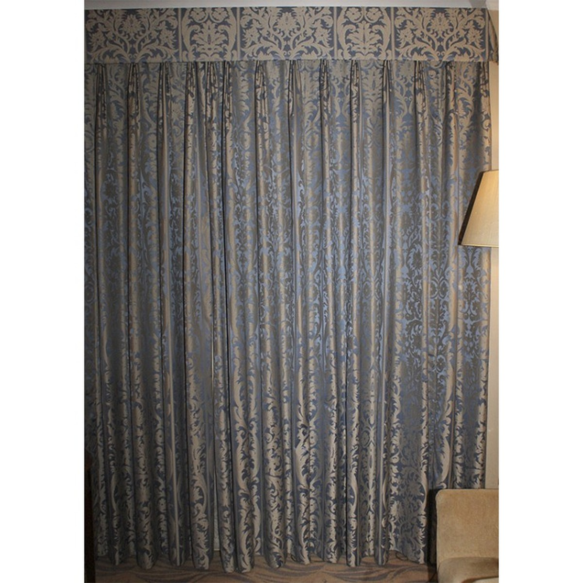 Secondhand Hotel Furniture Decorative And Dressing Ex 5 Star Hotel Luxury Long Drop Curtains