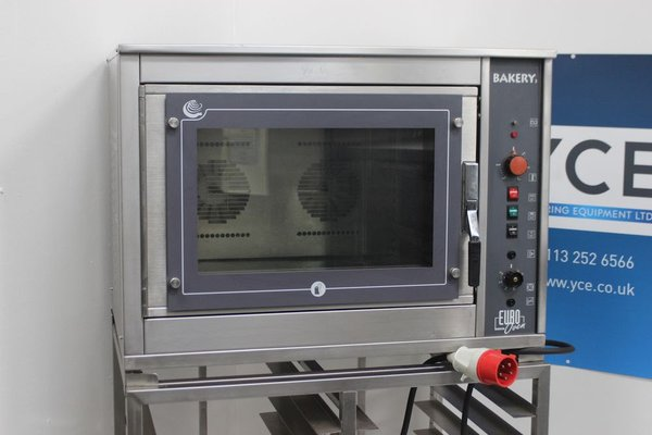 Fri-Jado Electric Euro Oven BAK4 Bake-off Oven on Stainless Steel Stand