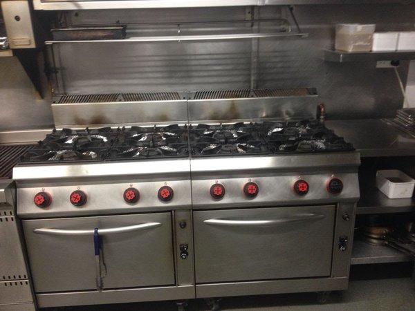 Commercial OFFCAR 4 Burner Oven