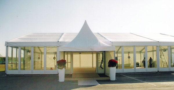 Marquee glass walls for sale