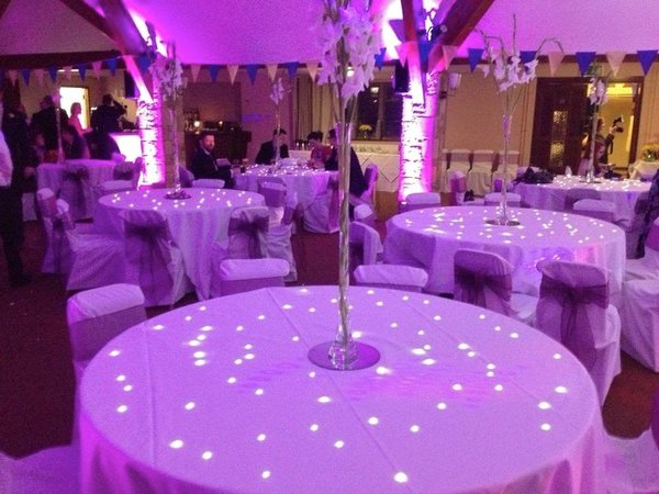 Starlit Twinkling LED Tables