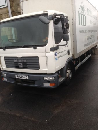 MAN TGL 7.150 Box Lorry