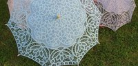 pastel lace umbrella